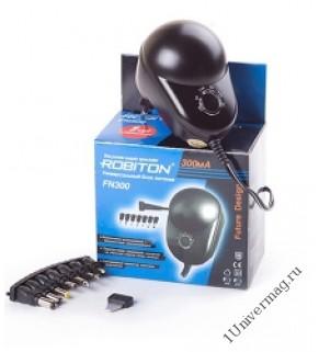 Адаптер/блок питания ROBITON FN500 500мА нестабилизированный, 7 насадок BL1
