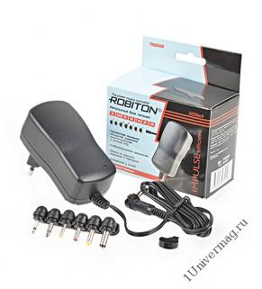 Адаптер/блок питания ROBITON TN2250S 2250мА импульсный BL1