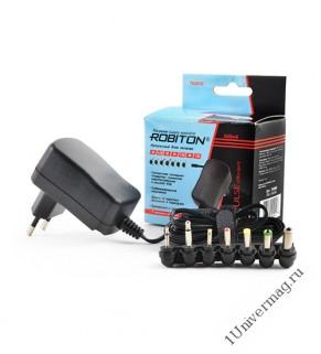 Адаптер/блок питания ROBITON TN500S 500мА импульсный BL1