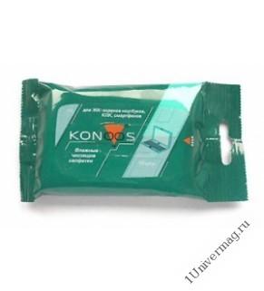 Влажные чистящие салфетки для ЖК-экранов в карманной упаковке
