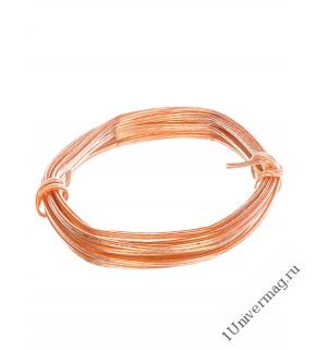 Акустический кабель Pro Legend, 2х0,5мм2, прозрачный, медь, Россия, 10м