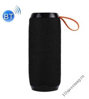 Портативная стерео Bluetooth колонка 5w*2, черная