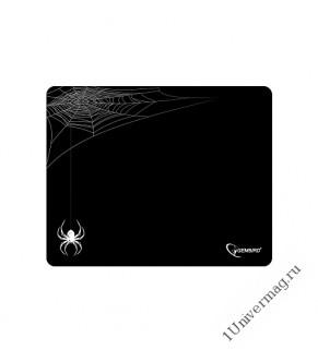 "Коврик для мыши Gembird MP-GAME11, рисунок- ""паук"", размеры 250*200*3мм, ткань+резина"