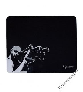 "Коврик для мыши Gembird MP-GAME12, рисунок- ""снайпер"", размеры 250*200*3мм, ткань+резина"