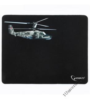 """Коврик для мыши Gembird MP-GAME4, рисунок- """"вертолет-2"""", размеры 250*200*3мм, ткань+резина"""
