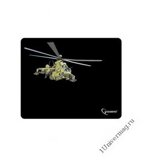 """Коврик для мыши Gembird MP-GAME9, рисунок- """"вертолет"""", размеры 250*200*3мм, ткань+резина"""