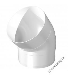 10ККП 45°, Колено круглое пластик 45°, D100 (10ККП 45°)