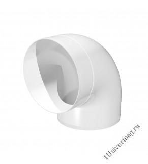10ККП, Колено круглое пластик 90°, D100 (10ККП 45°)