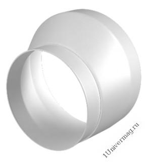 0810РЭП, Соединитель эксцентриковый круглого воздуховода с круглым пластик D80/100