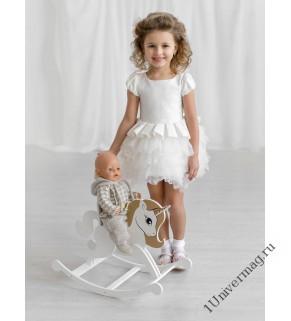 Игровая мебель для кукол Единорог. Цвет белый