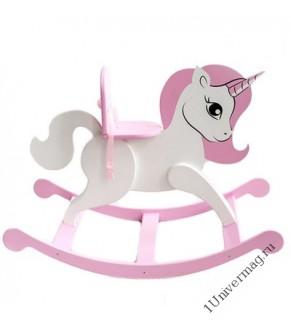 Игровая мебель для кукол Единорог. Цвет розовый