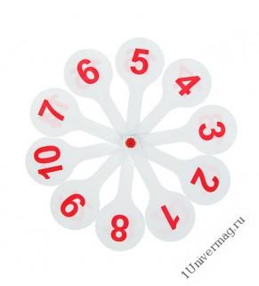 """Касса """"Веер"""" цифры от 1 до 20 прямой и обратный счет"""